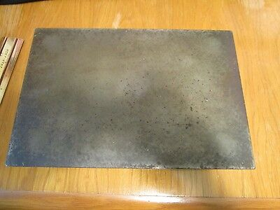 """Cast Iron Machinist Inspection Surface Plate Bench Plate Top 8"""" x 12"""" x 2-3/4"""""""