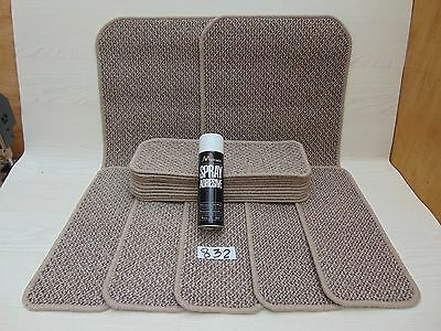 Stair pads / treads 15 off and 2 Big Mats with a FREE can of SPRAY GLUE (832-3)