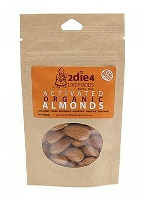 2die4 Activated organic Almonds