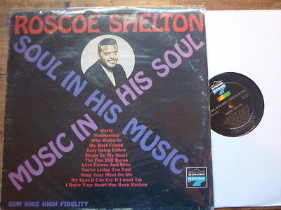 northern soul roscoe shelton soul in his music ss7usa orig lp