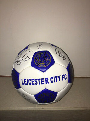 Leicester City signed Ball - Community Shield Final 2016
