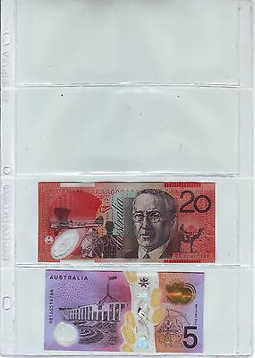 SELL OUT 10 4  Pockets page (8 mil vinyl) small  Currency banknotes