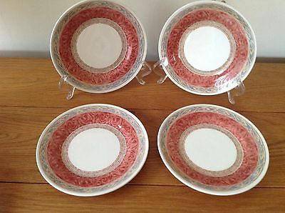 Churchill Ports of Call Zarand Side Plates X 4 (2 sets available)REDUCED