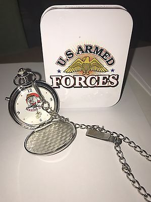 U.S. Armed Forces MARINE Corp. Pocket Watch