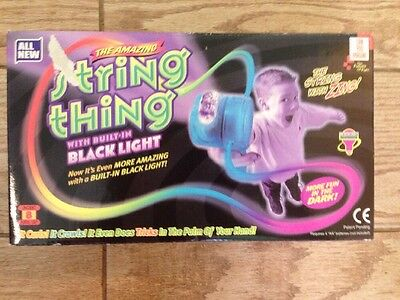 Can You Imagine String Thing UV Black Light, Pink