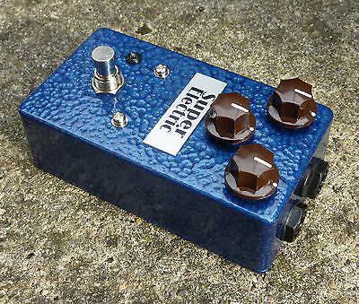 Super Electric Warp Sound - Guitar Pedal Vintage Distortion Filter Vorg
