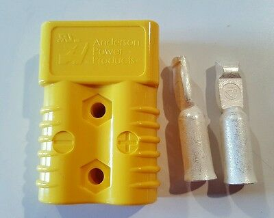 Anderson SB175 Connector Kit Yellow 2 Awg