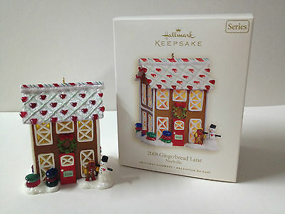 Hallmark Keepsake 2008 Gingerbread Lane Noelville Series Christmas Ornaments