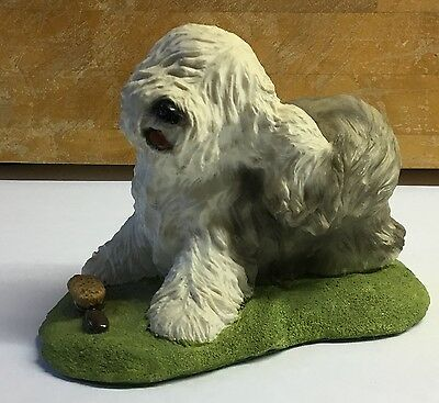 Old English Sheepdog sculpture by Helen Dudley
