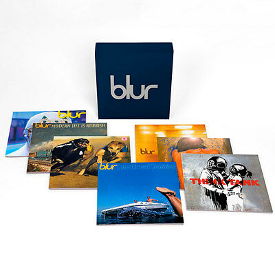 Blur 21 - 7 albums 13 Vinyl discs, still sealed BLURBOXLP1 - rare and long OOP