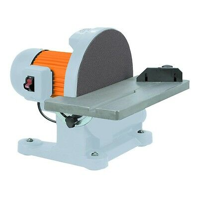 12 in. 1-1/4 HP Disc Sander Sand down wood and metal quickly