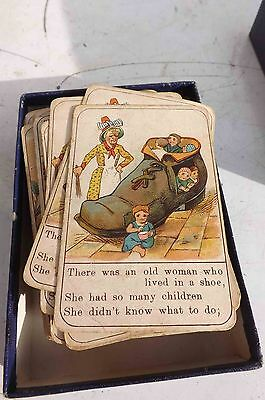 Victorian childrens playing cards74 in total rare