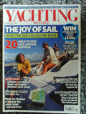 Yachting Monthly Magazine Sept 2007  -  Legend 50  -  Discovery 55