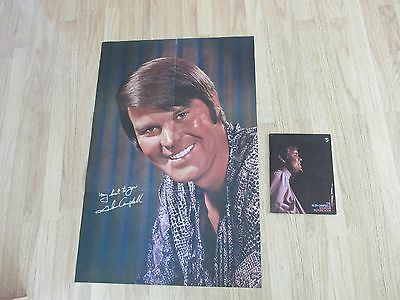 "Glen Campbell poster and souvenir picture book Poster is 36"" X 24"" Read more bel"