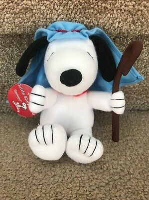 Little Shepherd Snoopy Plush Charlie Brown Christmas NWT