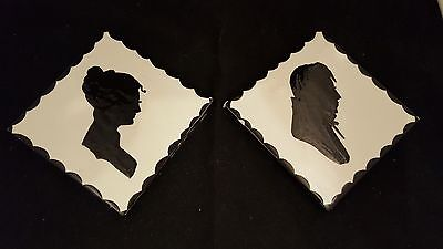 Victorian Style Silhouette Tile