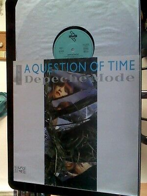 """Depeche Mode - Aquestion Of Time / Maxi 12"""" Vinyl Made In Germany 1986 .nm / Nm"""