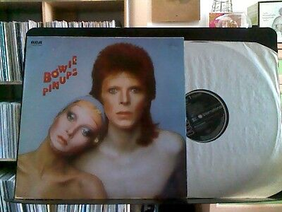 David Bowie - Pin-Ups Album Vinyl 1981 Rca Records. Made In Germany. Condition N
