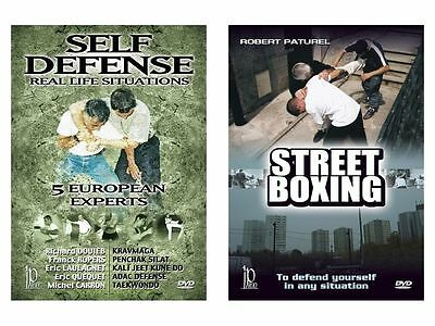 Street boxing and self defense in real life situations 2  dvd set SET21