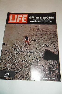 Life Magazine - On The Moon - August 18 1969