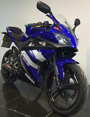 2009 09 Yamaha Yzf-R125 R 125 Blue Leaner Legal Project/trade Sale/spares/repair