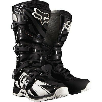 White Sz 8 Fox Racing Comp 5 Undertow Boots Motocross Boots