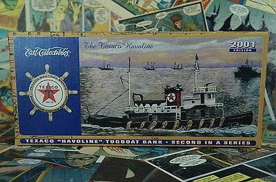 "2001 Edition Texaco ""Havoline"" Tugboat Bank Second in Series"
