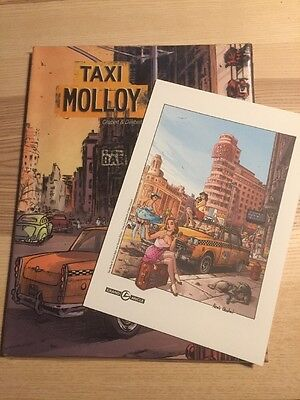 Taxi Molloy [French] (Chabert & Dimberton) With Art Print