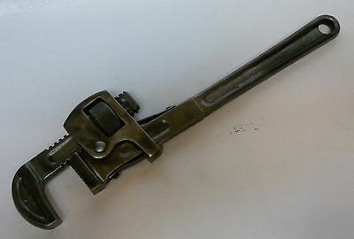 """Vintage Danielson 14"""" Stillson-Pattern Pipe Wrench. Made in USA. Hardly Used."""