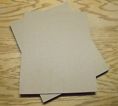 Pack of 50 - 8.5x11 Chipboard Sheets .050 Thickness