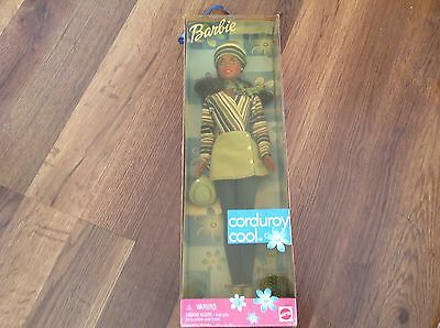 Barbie Doll  Corduroy Cool African American Doll, Rare!