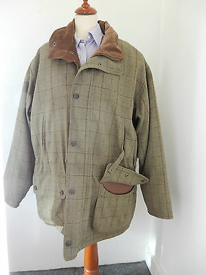 Barbour Sporting L/W Washable Tweed Jacket Size XL