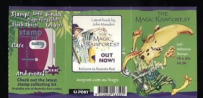 (935668) Cartoon, Tropical Forest, Booklet, Australia - cto used -