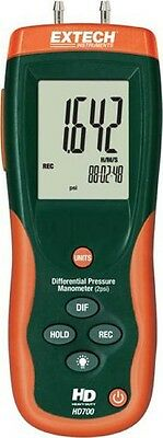 Extech HD700 Differential Pressure Manometer - 2PSI