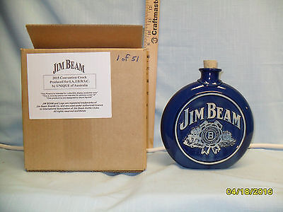 Jim Beam Clubs 45th Annual Special Convention Decanter