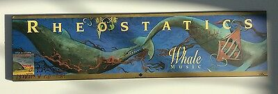Rheostatics Whale Music Promo Print Signed By Dave Bidini And Tim Vesely