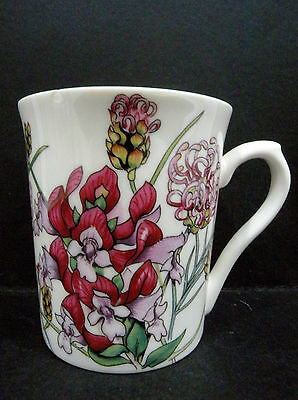 Australian Fine China Mug - The Australian Wildflower Collection - Grevillea a