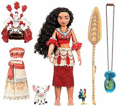 Disney Moana Singing Feature Doll Set - 11 Inches