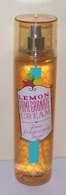 Bath & Body Works Lemon Pomegranate Cream Fine Frag. Mist F/size Great Scent!