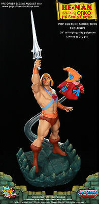 Exclusive He-Man 1/4 Scale Statue, Orco, Pop culture shock Sideshow, neu