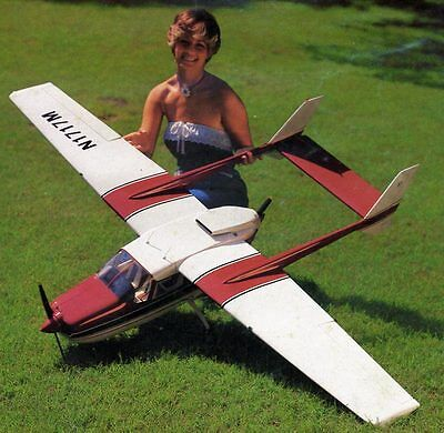 Cesna   Skymaster  Twin.  Giant Scale RC AIrplane Rolled Plans & Templates