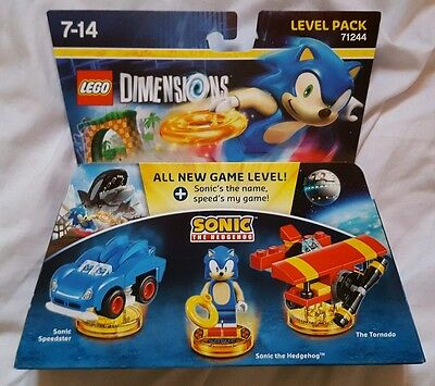 Lego Dimensions Sonic The Hedgehog Level Pack - New and Sealed