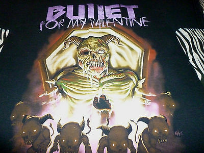 Bullet For My Valentine Shirt ( Used Size M ) Good Condition!!!