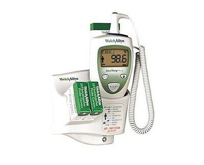 Welch Allyn 01690-300M SureTemp Thermometer with 9' Oral Probe and Wall Mount