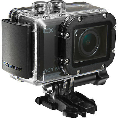 ACTIVEON CX HD Action Camera 1080P WiFi Sealed NEW