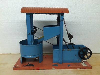 Steam Engine Driven Model – concrete mixer