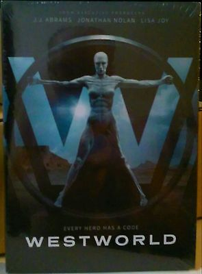 Westworld: First Season 1(DVD, 2016, 4-Disc Set) BRAND NEW & SEALED!!