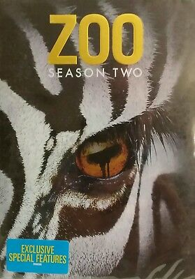 Zoo Second Season Two 2 (DVD) BRAND NEW & SEALED!!