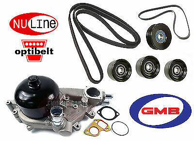 Holden Commodore Vt Vx Vy Vz 5.7 V8 Gen3 Ls1 Water Pump Belt Idler Pulley Kit