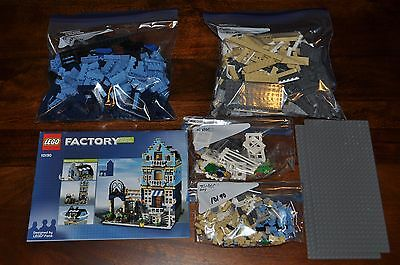 Lego Factory 10190 Market Street Complete Set W/ Original Manual  Authentic Lego